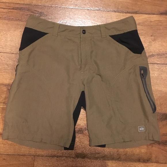 Nylon Hiker Shorts